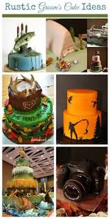 Rustic Grooms Cake Ideas