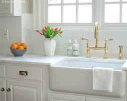 Unlacquered Brass Lavatory Faucet by Kitchen Faucet Rapture Unlacquered Brass Kitchen Faucet