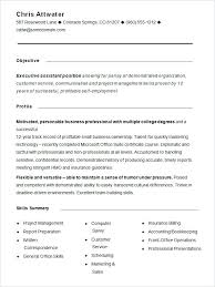 Resume Structure Format New Formats College