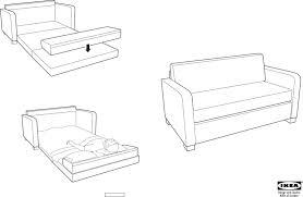 hagalund sofa bed assembly memsaheb net