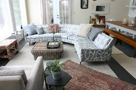 Grey Leather Sectional Living Room Ideas by Sublime Curved Leather Sectional Sofa Decorating Ideas Images In