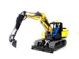100 Lego Remote Control Truck Technic Excavator THE LEGO CAR BLOG
