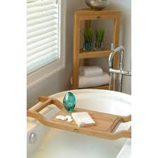 Teak Wood Bathtub Caddy by Bathroom Enchanting Taymor Teak Bathtub Caddy 100 Javanese Teak