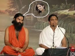 Baba Ramdev Thinking About Katrina Kaif