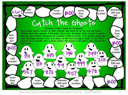 Halloween Math Board Games FREEBIE