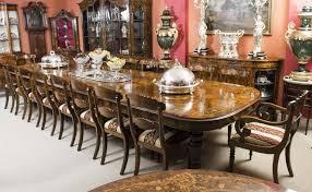 Verfuhrerisch Antique Dining Room Table Seats 12 Corner Covers ...