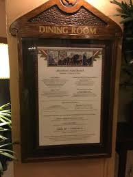 sunday brunch menu picture of the majestic yosemite dining room