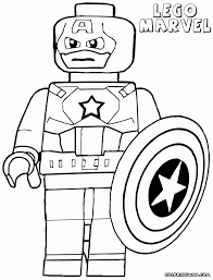 Lego Marvel Coloring Pages Anfuk Co Within