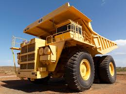 100 Large Dump Trucks Big Yellow Truck A Longsince Retired Haulpak From Robe Ri