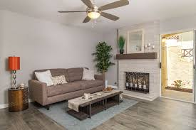 contemporary living room with ceiling fan carpet in chula vista