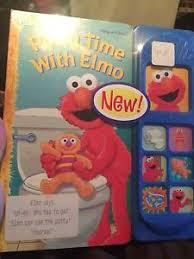 Elmo Potty Seat Cover by Potty Time With Elmo Ebay