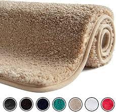 badezimmerzubehör badematte badteppich hochflor 50x80 cm