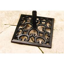 Market Umbrellas 49 95 Attractive by Better Homes And Gardens Englewood Heights Cast Iron Umbrella Base