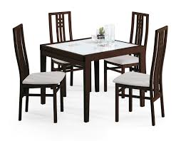 100 Cherry Table And 4 Chairs Poker And Scala Wenge And Modern Casual Dining
