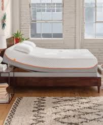 tempur pedic up queen adjustable base mattresses macy s