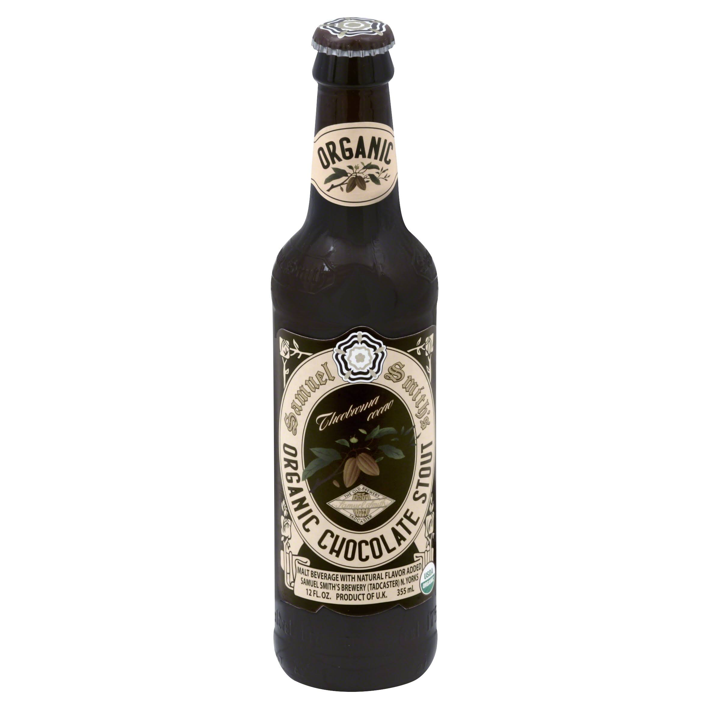 Samuel Smith Stout, Organic Chocolate - 12 fl oz
