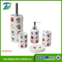 Cheap Owl Bathroom Accessories by Owl Bathroom Accessories Bathroom Accessories The Freshness In