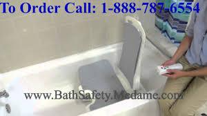 Portable Bathtub For Adults Canada by Lightweight Portable U0026 Reclining Bellavita Bathtub Lift Youtube