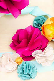 Crafts Paper Flower Tutorial