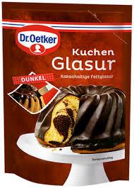 dr oetker kuchen glasur dunkel 125g