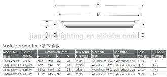 epistar chip t8 led 1500mm 24w t8 led ballast bypass led
