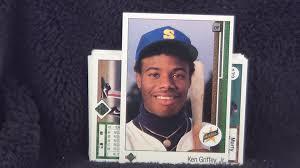 1990 Upper Deck Ken Griffey Jr by 1989 Upper Deck Baseball Trading Cards Packs 3 U0026 4 Opening Griffey