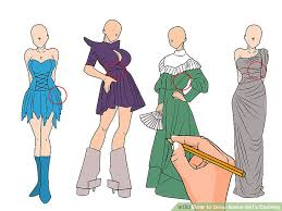 Image Titled Draw Anime Girls Clothing Step 6
