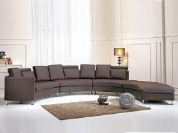 sofa rotunde braun ch