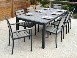 awesome table de jardin extensible marino gris contemporary