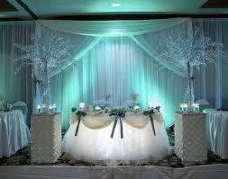 Wedding Ideas Winter Blue Decor The About