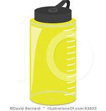 School Water Bottle Clip Art