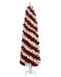 Cheap Pre Lit Pencil Christmas Trees by Peppermint Stick Pencil Christmas Tree Treetopia