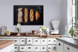 cadre cuisine decoration murale cuisne avec le tableau décoration ptit dej