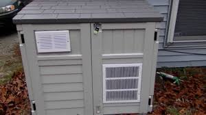suncast generator shed homemade youtube