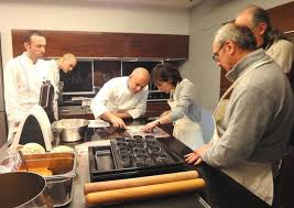 alain ducasse cours de cuisine l école d alain ducasse à a accueilli olivier nasti