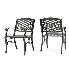 Christopher Knight Home 239073 Deal Furniture Covington | Outdoor Cast  Aluminum Dining Chair |, Set Of Two, Antique Bronze Zuo Mayakoba White Stationary Alinum Outdoor Ding Chair 2pack Best Patio Fniture And Metal Garden Table Folding Lofty Clearance Epic Wrought Iron Sets Chair Lisa White Breeze Ding Chair Shiaril 5 Pc And Navy Set Setting Chairs Wicker Room Resin Modern Cushions Of 20 High Gloss By Andre Putman For Emeco Mamagreen Sr Hughes Grace 6 Seater Warehouse