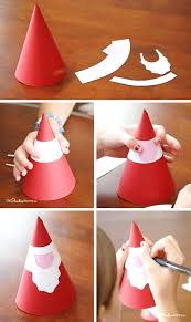 Paper Cone Kids Craft Decoration Crafts Ornament Easy