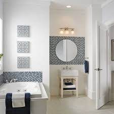 Blue Mosaic Bathroom Mirror by Glass Mosaic Tile For Your Bathroom Decoration Herpowerhustle Com