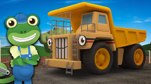 100 Kidds Trucks For Kids George The Giant Dump Truck Visits Gecko Geckos