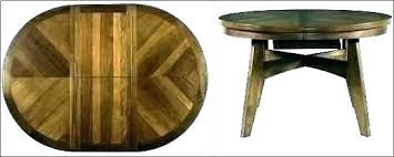 Hidden Leaf Dining Table Round Room Tables With