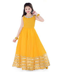 Yellow Dress Design In Pakistan