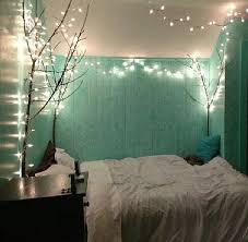 Cool Idea Take A Large Tree Branch Put It Into Cement In Pot To Hold Place The Small Corner Of Room And String Lights On