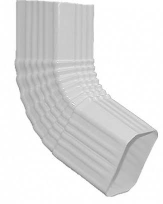 Genova Products AW201B Duraspout Side Elbow - White