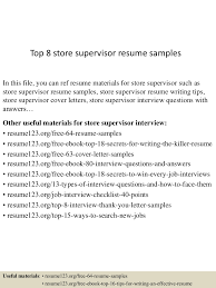 Top 8 Store Supervisor Resume Samples Production Supervisor Resume Sample Rumes Livecareer Samples Collection Database Sales And Templates Visualcv It Souvirsenfancexyz 12 General Transcription Business Letter Complete Writing Guide 20 Data Entry Pdf Format E Top 8 Store Supervisor Resume Samples Free Summary Examples Account Warehouse Luxury 2012