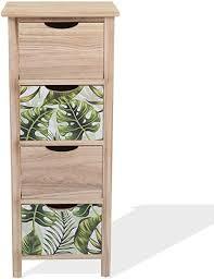 mobili moderne schubladenkommode holzschrank 4 schubladen braun grün modern als einrichtung für schlafzimmer haus maße 84 x 34 x 27 cm