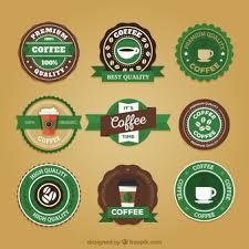 Retro Starbucks Stickers Set