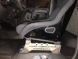 1988-2013 GM Truck Custom Seat Brackets - Atomic F&P 19882013 Gm Truck Custom Seat Brackets Atomic Fp Chevrolet Chevy C10 Custom Pickup Truck American Truckamerican Seatsaver Cover Shane Burk Glass Neoprene Car And Covers Alaska Leather News Upholstery Options For 731987 Trucks Where Can I Buy A Hot Rod Style Bench Seat Ford Vanlife How Do Add Seats To Full Size Cargo Van Bikerumor Amazoncom Durafit 12013 F2f550 Crew 1985 Chevrolet C10 Interior Buildup Bucket Seats Truckin Coverking Genuine Customfit With Gun Holder Fresh Tactical Ballistic