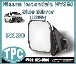 Nissan Impendulo NV350 Side Mirror - USED - New And Used Replacement ... 2009 Ford F150 Driver Side Mirror Replacement 28 Images Buy 1990 Nissan Truck Rear Driver Side View Mirror Black Napa West Coast 7804 16 The Complete Replacement Cost Guide Nos Ford Outer Mirror Replacement Glass Transit Mk1 Mk2 D Truck Chevy Silverado Other Makesmodels Precut Custom Solutions Burco Inc Mirrors Luxury Heavy Duty Rh Dvids Images Soldier Cleans On Her M915a3 Truck Image 1 Heated Head Aw Direct Ford Car Perfect Convex Safety Stock Photos