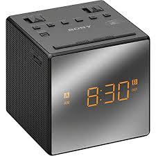 sony alarm clock radio white electronics