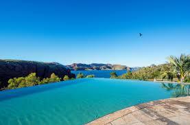 100 Resorts With Infinity Pools Pool At Lake Argyle The Kimberleys Caravan Park
